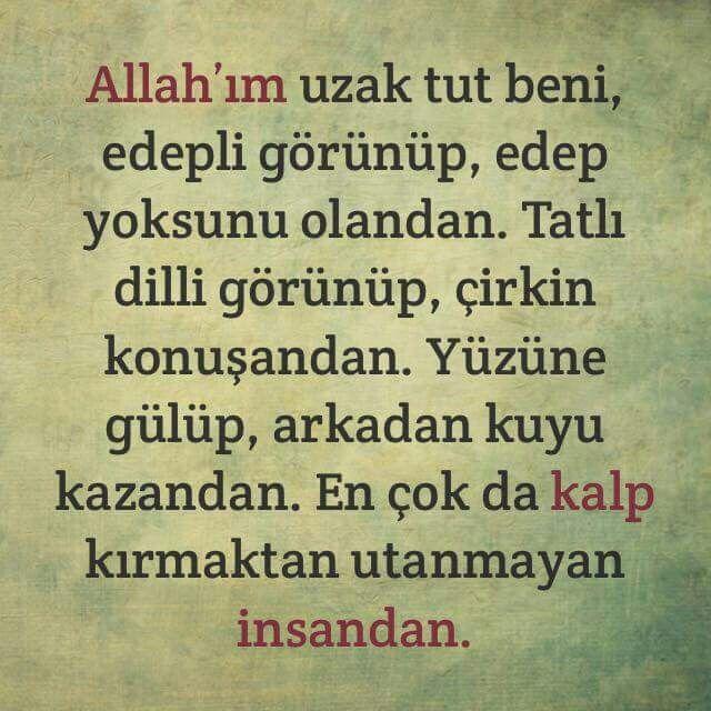 Amin amin amin en çok da trilyonlarca kez amin goes to kalp kırmaktan utanmayanlar için edinilen dua