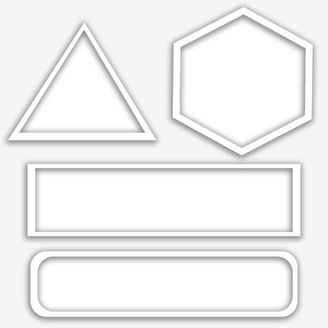 White Frame Shapes Border Border Frame Shapes Geometric Border Frame Border Rectagle Border White Circ In 2021 Background Design Vector Clip Art Borders Flower Drawing