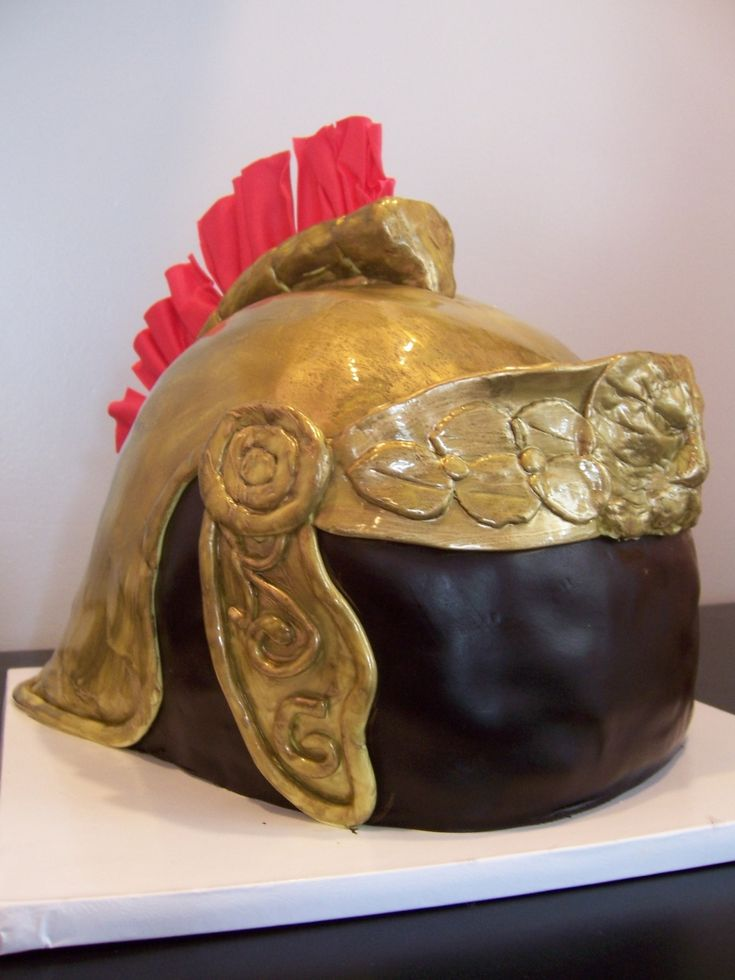 how to make a roman soldier helmet