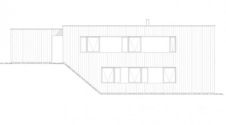 Fasade Panorama - et funkisinspirert kataloghus fra Norgeshus.