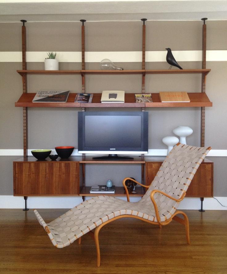 Vintage Bruno Mathsson Pernilla Lounge Chair