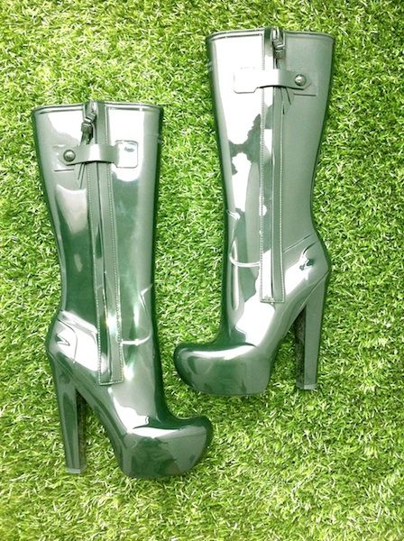 Imagine Fashion Designer Military Boots