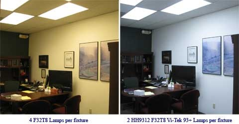 Before And After Vi Tek 93 Plus Daylight Lights Going