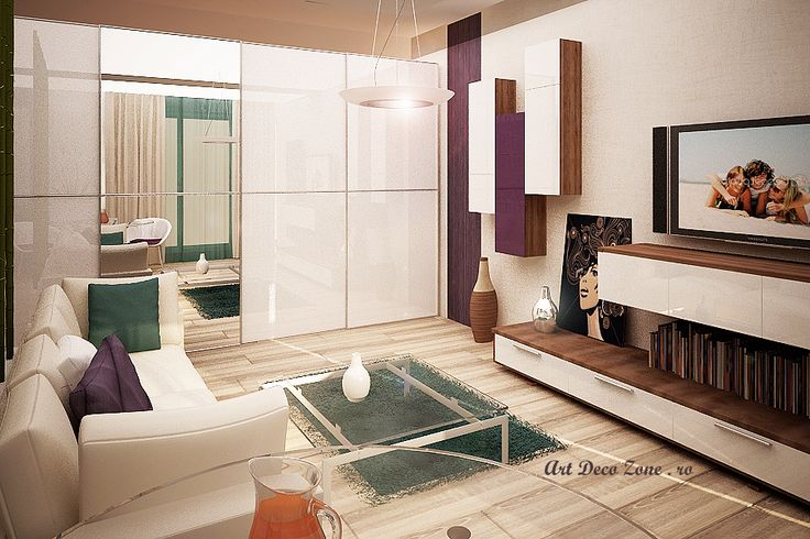 Garsoniera Timpuri Noi - Art Deco Zone & Knox Design - Amenajari interioare Bucuresti