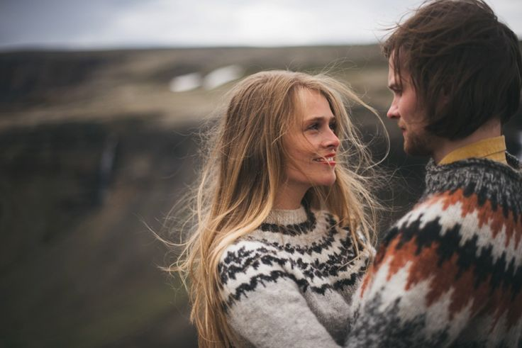 Love Shoot in Iceland by Chris & Alina Photography.