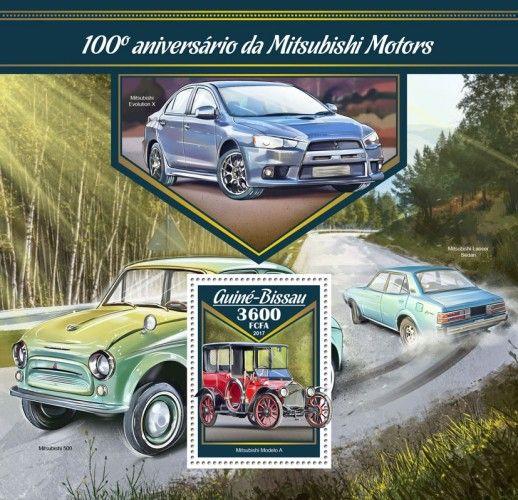 GB17006b 100th anniversary of Mitsubishi Motors (Mitsubishi Model A)