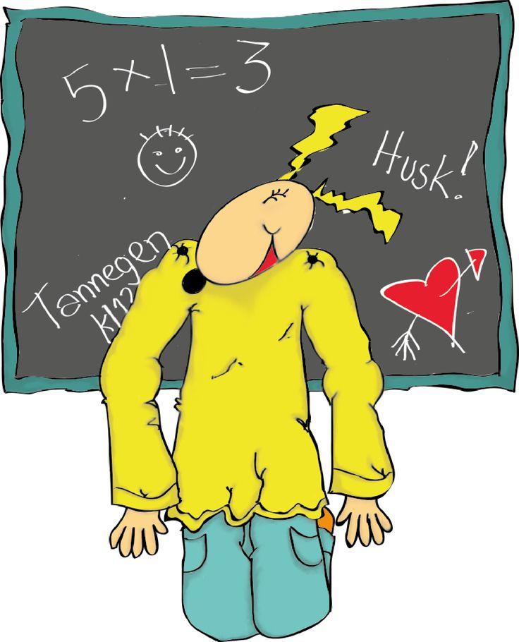 Perles ideelle påfunn for å ikke glemme høstens dugnad! www.perleskrinet.no
