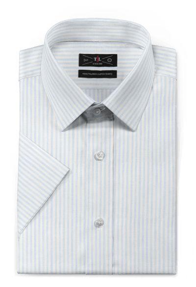 Blue short sleeved striped linen Shirt https://www.hockerty.com/en-us/men/shirts/7393-blue-short-sleeved-striped-linen-shirt