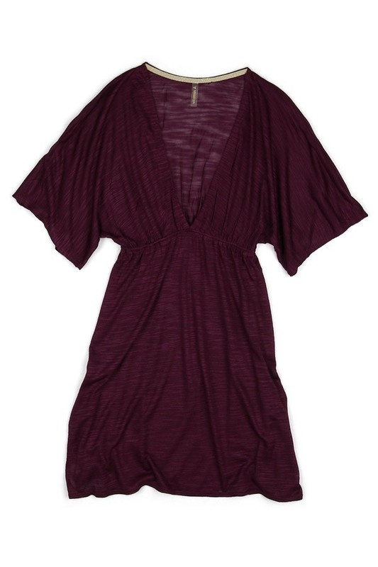 Tailored Tunic Berry