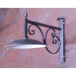Wrought Iron Lantern. Stainless Steel. Customize Realisations. 297