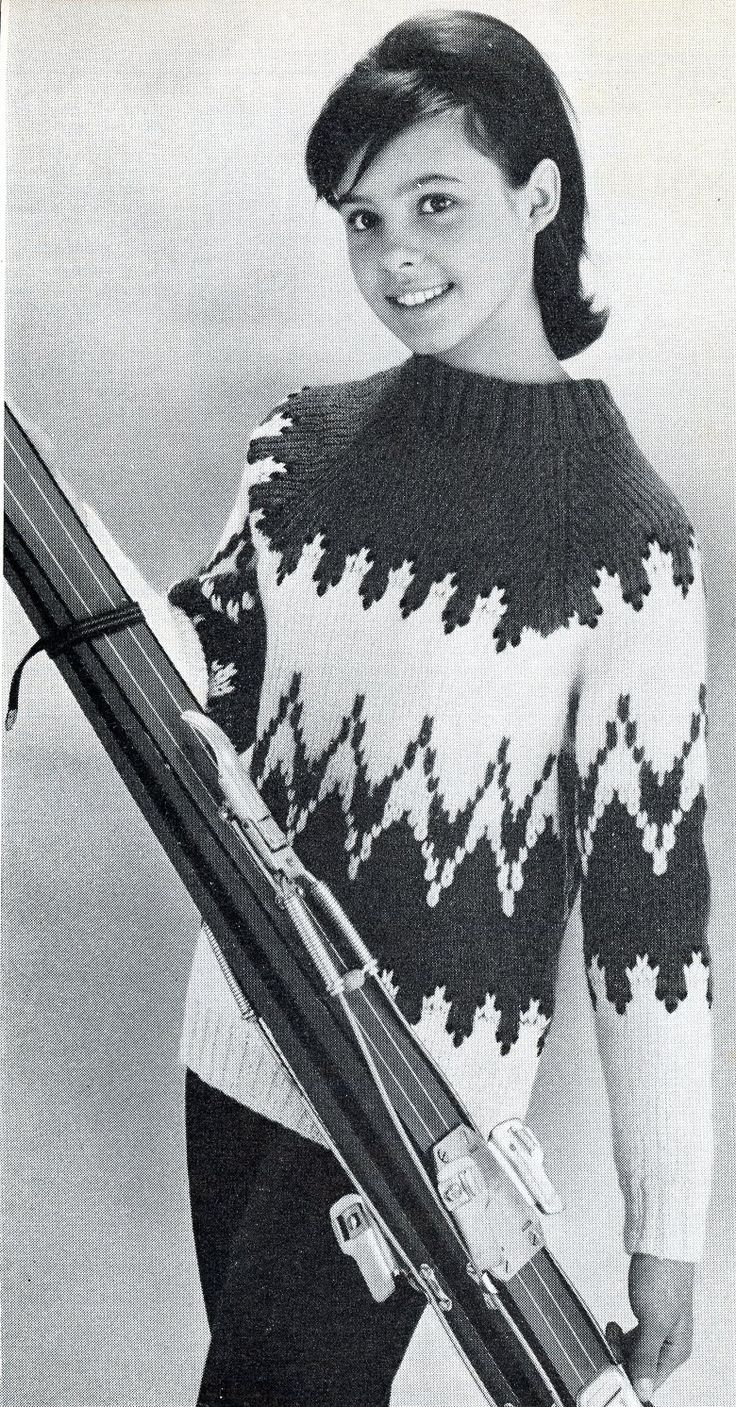Très 924 best 1960's knitting and crochet images on Pinterest | Vintage  BZ06