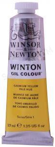 Winsor & Newton Winton Yağlı Boya 8 Cadmium Yellow Pale Hue