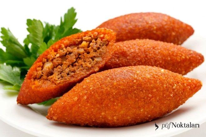 Poğaça şeklinde içli köfte tarifi. Arap mutfağının bir lezzetidir. Bazı bölgelerde içli köfte olarak anılan bu lezzetin diğer adı oruktur.