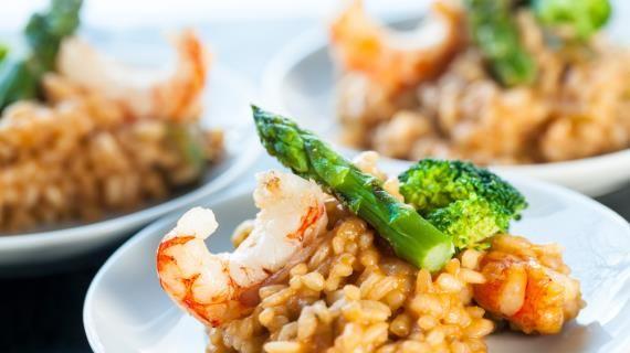 Рецепты ризотто - ризотто с морепродуктами, ризотто с креветками, ризотто с грибами, десертное ризотто