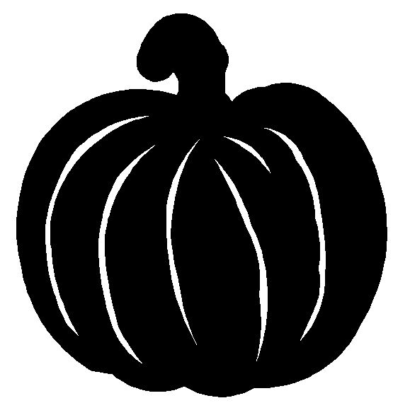 pumpkin clip art free black and white - photo #39