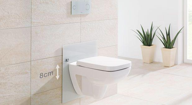 Fixé avec un bâti-support adapté, le WC suspendu est réglable en hauteur. Un confort pour les enfants et les seniors, une nécessité pour les handicapés.