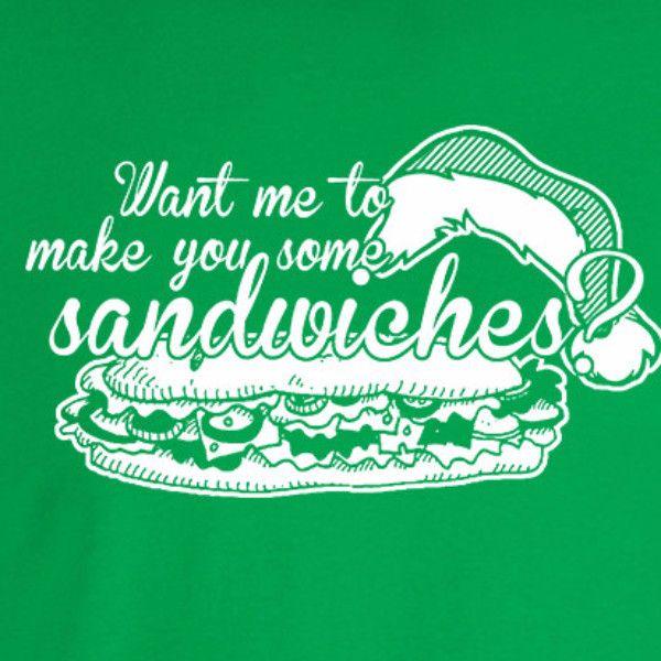 Bad Santa Sandwiches T-Shirt