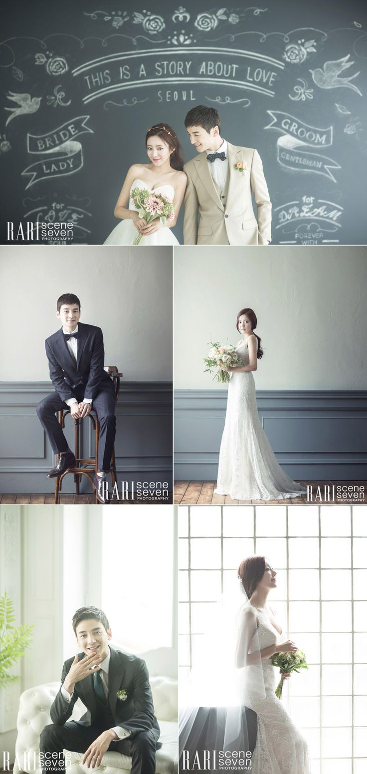 Korean wedding photo concept - RARI Photography - Chic