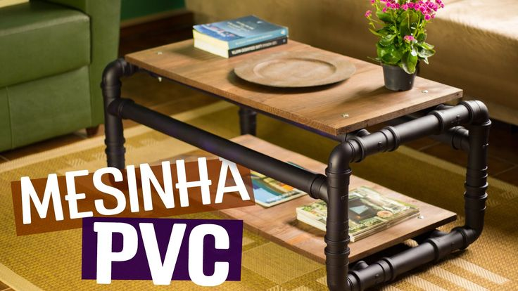 Conheça a cola POLYTUBES da Pulvitec: www.diycore.com.br/polytubes Genteee!! Pára tudo porque essa mesa de centro chegou para abalar! Com a estrutura toda em...