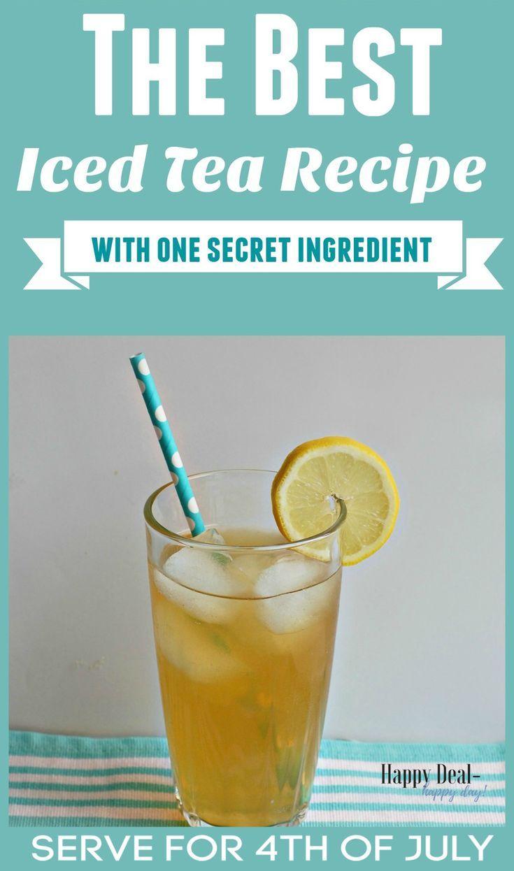 Easy Frugal Recipe Honey Vanilla Chamomile Lemonade Iced Tea