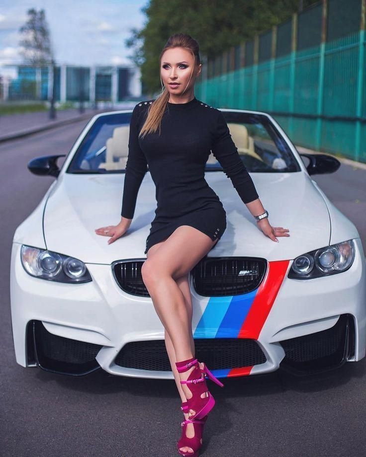Luxury World Cars Creates A Special Board In The Hope Of Proving The Power Of Cars And Woman Together In A Same Place At The Same T Bmw Girl Car Girls