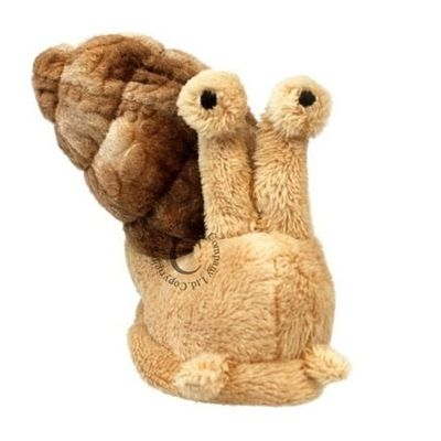Imposing and fluffy snail finger puppets from The Puppet Company provide an excellent tool for imagination and play with secure elastic finger hole to suit little hands and big hands alike.