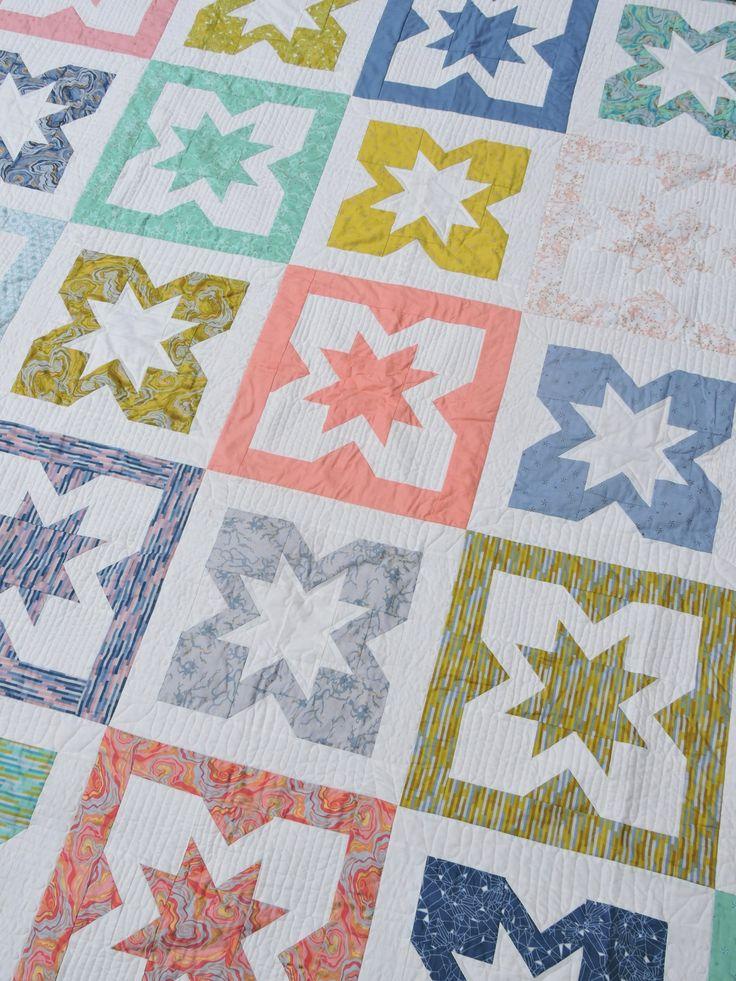 quilt pattern: geode