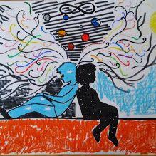 XXV Rudzkiego Festiwal Kultury Młodzieży. Temat kontrasty. Praca Maryny Siodłoczek 2ga kwiecień 2015
