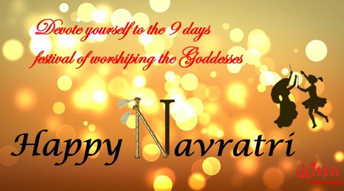 Wishing everyone a very Happy Navratri. #kittnsalon&spa