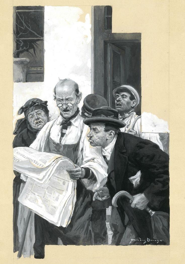 imagen 7 de Narciso Méndez Bringa: el espectáculo de la ilustración.