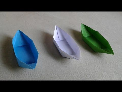 how to make a paper boat that floats in water for kids Origami paper boat paper craft
