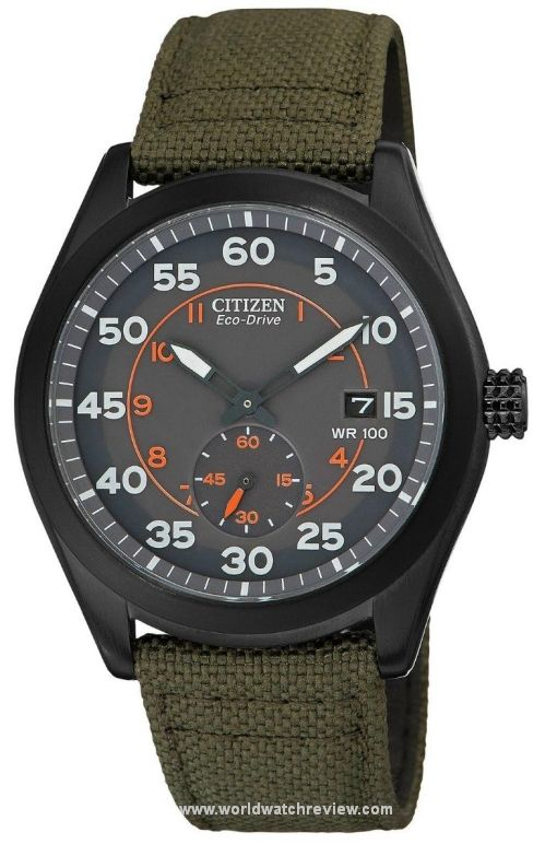 Citizen Eco-Drive Military Sub-Seconds (Ref. BV1085-22H) solar-powered watch - not bad for $160