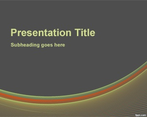 Change Management PowerPoint Template is a free style background for business presentations over a gray background color that you can use for change management consultancy or change management services