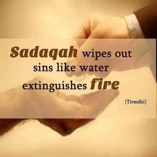 Give sadaqah.
