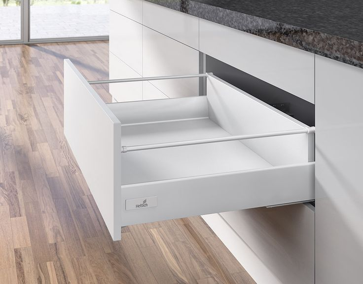Hettich InnoTech soft close drawers. Open & close with ease.
