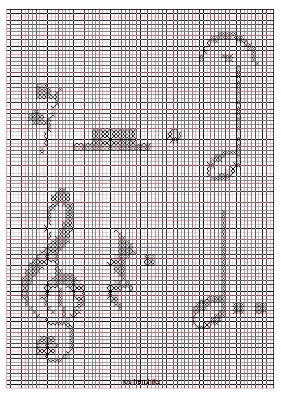 Embroidery and Embroider- alphabets-musical notation