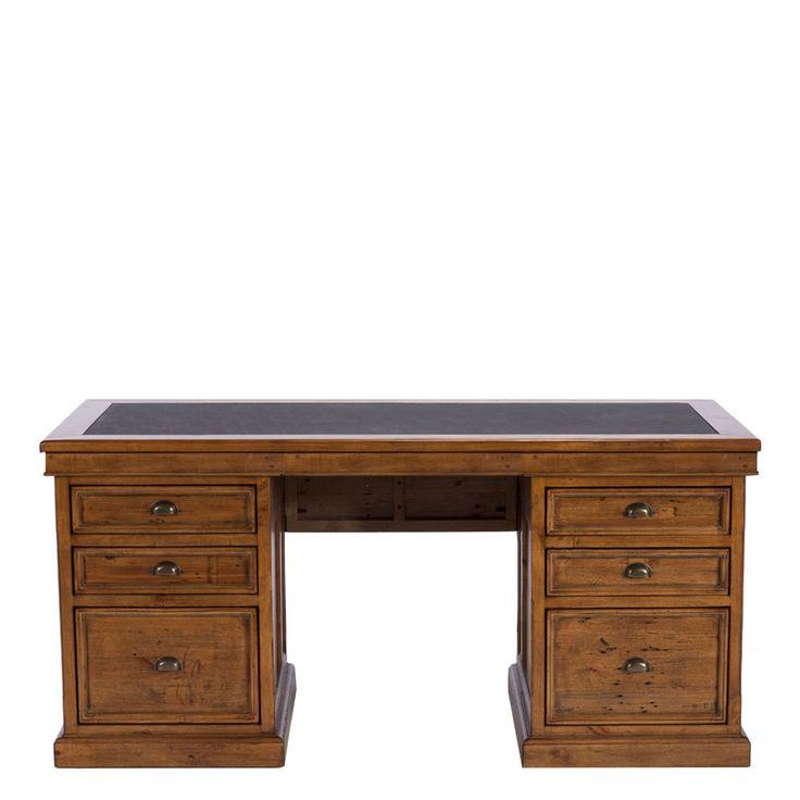 The Villiers Large Pedestal Desk - Home Office Desk