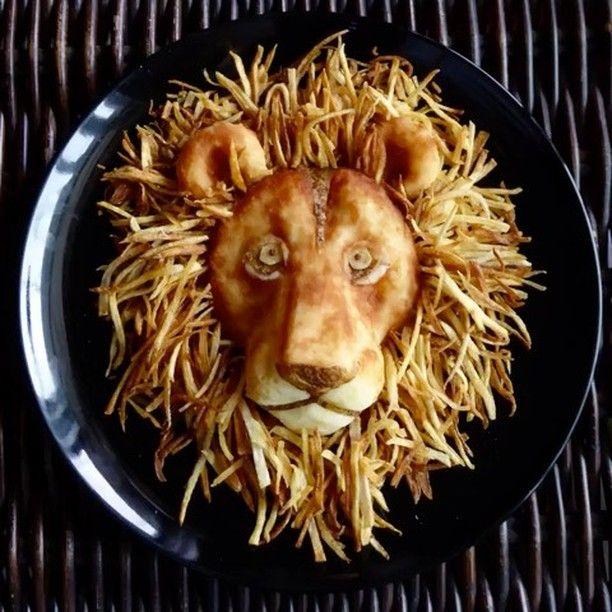 いいね!766件、コメント48件 ― ザッキー☆さん(@kazuyo_yamazaki)のInstagramアカウント: 「。 #lion 見た通りライオン🦁❣️ 。 最近、じゃがいもをいただくことが多かったので作ってみましたヽ(≧▽≦)ノ💖💖 #ザッキー☆ 流、じゃがいも料理です❗️ 。 このライオンは なんと…」