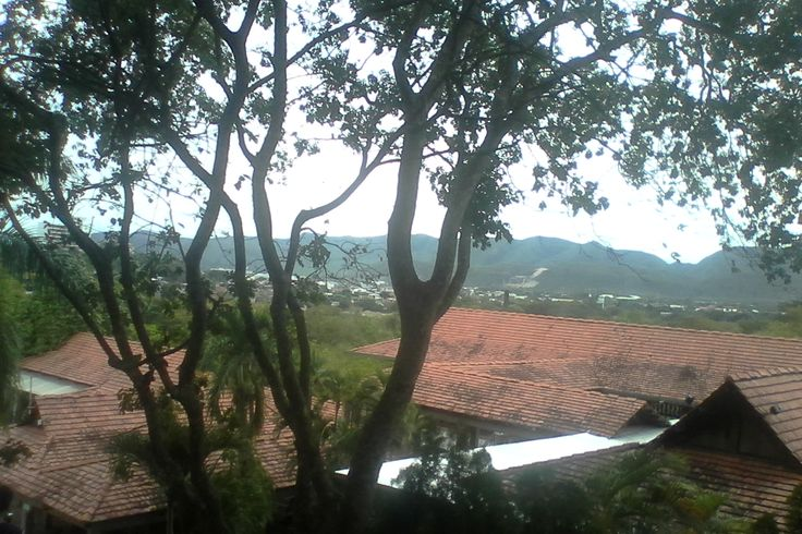 Panoramica de la ciudad de Girardot en Colombia. un clima delicioso.