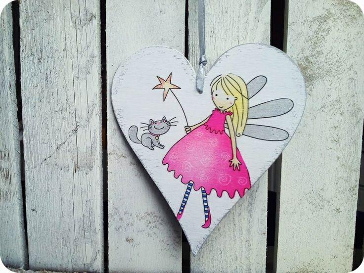Serduszko małej wróżki od handmade by Joanna