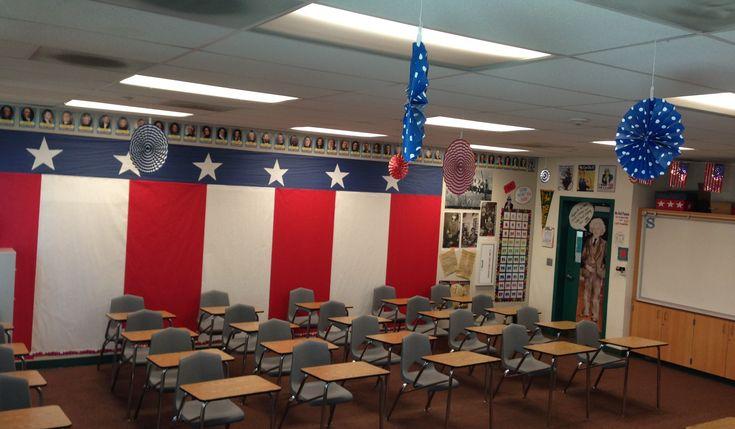 My classroom! US History! High School :)                                                                                                                                                      More