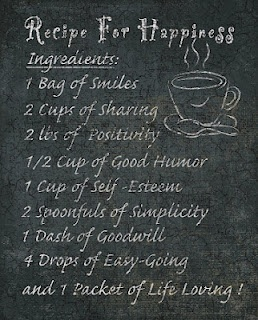Happinessin recipe form