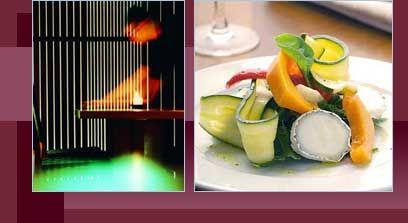 Vegetarian Restaurant Edinburgh Scotland UK: David Bann Restaurant: