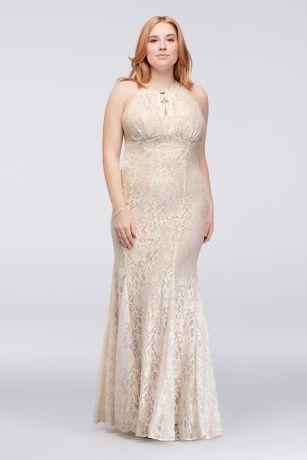 ed89dd273 Long Mermaid/ Trumpet Halter Formal Dresses Dress - Morgan and Co ...