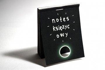 Animowany notes Fazy Księżyca