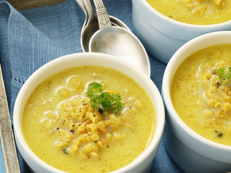 Currysuppe mit Linsen - smarter - Zeit: 10 Min. | eatsmarter.de Curry und Linsen sind die Hauptzutaten dieser Suppe.