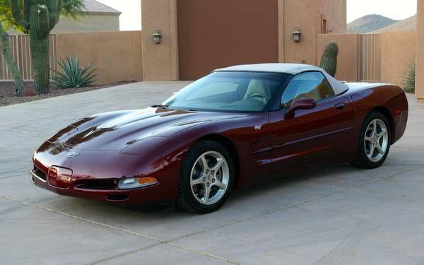 2003 Corvette 50th Anniv. convertible, 9,325 original miles
