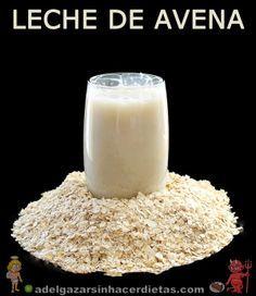 Receta saludable y sencilla de leche de avena casera baja en calorías y colesterol, apta para diabéticos, baja en colesterol, apta para veganos, celíacos e intolerantes a la lactosa.