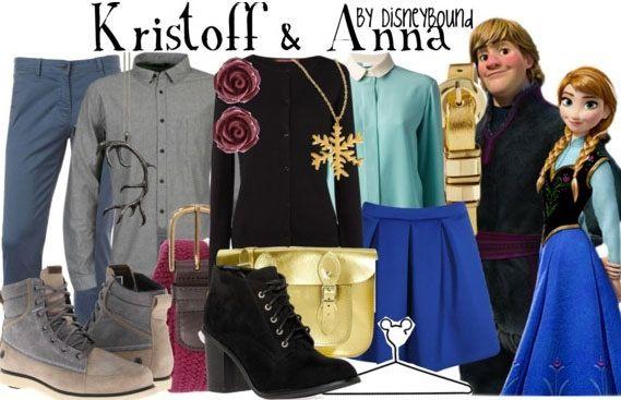 Disneybound Kristoff and Anna Frozen