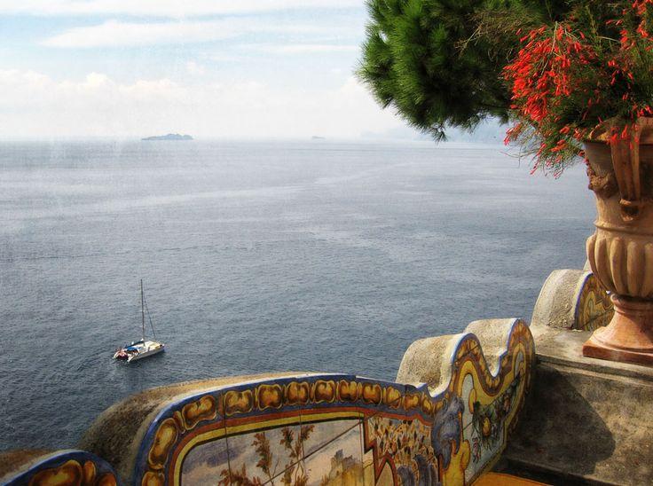 View from Il San Pietro di Positano, Amalfi Coast, Campania, Italy www.italyunfettered.com